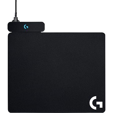 Logitech G POWERPLAY Alfombrilla de Carga Inalámbrica, Alfombrilla de Ratón para Gaming Rígida y de Tela, Compatible con G502 LIGHTSPEED, G PRO Wireless & SUPERLIGHT, G903, G703