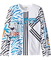 Kenzo Kids - Multi Iconics T-Shirt (Big Kids)