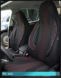 PL404 numero di colore Coprisedili compatibili con Ford Ranger conducente e passeggero a partire dallanno di costruzione 2015