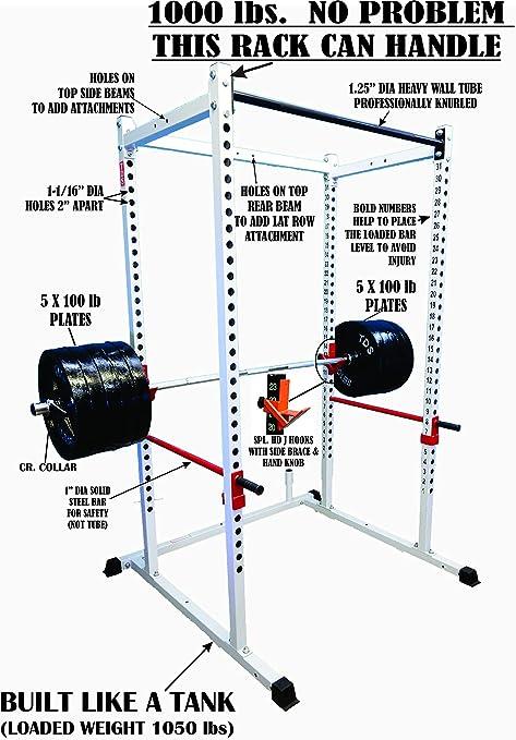 TDS Mega 1000lb Power Rack