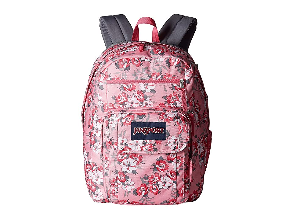 JanSport Digital Student (Prism Pink Pretty Posey) Backpack Bags