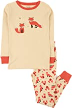 Leveret Kids Pajamas Boys Girls 2 Piece pjs Set Animal Prints 100% Cotton (Size 12 Months-14 Years)