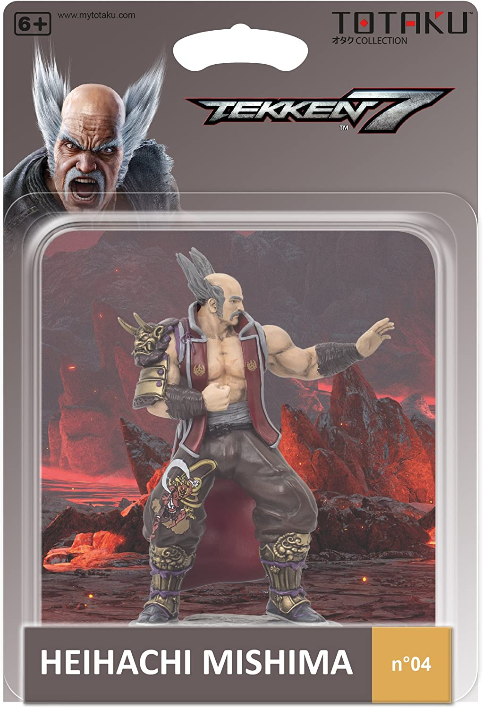 Figure Tekken 7 Heihachi 10cm Playstation No 04
