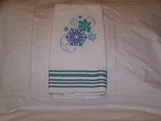 Snowflake Design Kitchen Towel