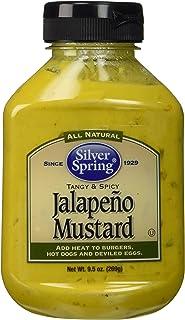 Silver Springs Mustard, Jalapeno, 9.5 oz