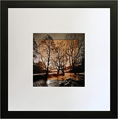 SAF Textured Print with UV Framed Reprint Painting (SANFO573, 25 cm x 3 cm x 25 cm) SANFO573