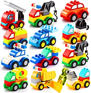 80 pcs Building Blocks Different Vehicles