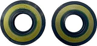 EngineRun Crankshaft Crank Shaft Oil Seals (2 Pack) Compatible with Husqvarna 455 455E 455 Rancher 460 Chainsaw OEM 503261901 503 26 19-01