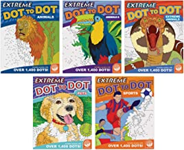 Student's Favorite Extreme Dot to Dot Books: Set of 5