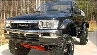Bushwacker 31019-11 Toyota Cut-Out Fender Flare - Front Pair