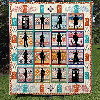 Gift for Your Lovers to My Mom Dad Wife Husband Kids Son Daughter Quilt King Queen Twin Throw Size Soft Warm All Season Comfortable for New Year Bigfoot Quilt