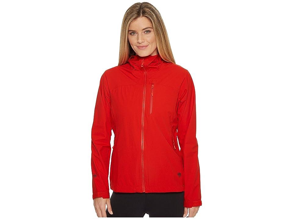 Mountain Hardwear Stretch Ozonictm Jacket (Fiery Red) Women