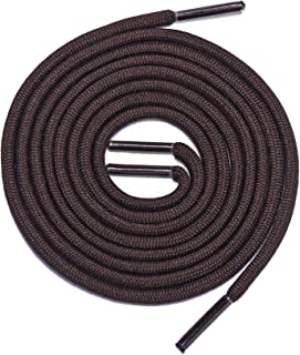 Thick Shoelaces Round Athletic Shoe Laces (2 Pair) - For Sneaker and Hiking Boot Laces