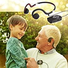 [bonein日本官方] 不遮挡耳朵 可在骨头听音乐 骨传导耳机 BN-803 集音 会议用 7级听觉的频率变化