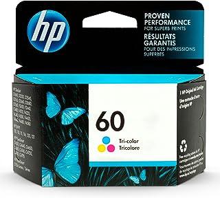HP 60   Ink Cartridge   Tri-color   Works with HP DeskJet D2500 Series, F2430, F4200 Series, F4400 Series, HP ENVY 100, 11...