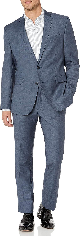 Kenneth Cole New York Men's Slim Fit 2 Button Suit