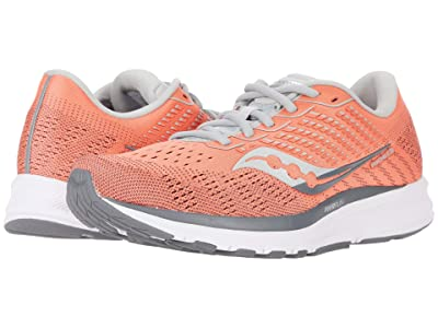 Saucony Ride 13 (Coral/Alloy) Women