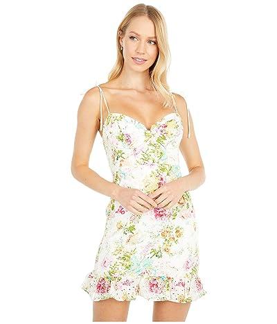 ASTR the Label Mireille Dress (Multicolored Floral) Women