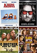 Coen Brothers: Laugh Out Loud Comedy 4 Movie DVD Collection (The Big Lebowski / O Brother Where Art Thou and More)