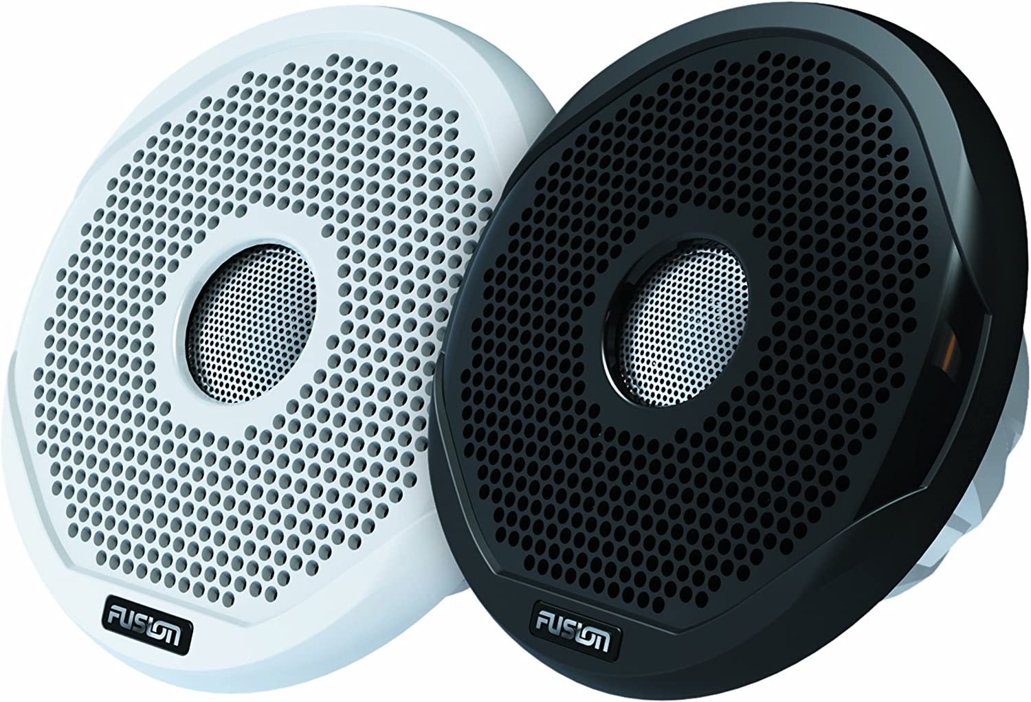 Fusion Msfr7021 Marine 7  2way 240w Speakers Boat Audio Black & White Grilles