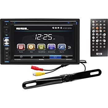 USB//SD Ports Double Din AM//FM Radio Receiver MP3 Player 6.5 Inch LCD Touchscreen Monitor Sound Storm Laboratories DDML65B Car MP3 Player No DVD Bluetooth Audio//Hands Free Calling AUX Input