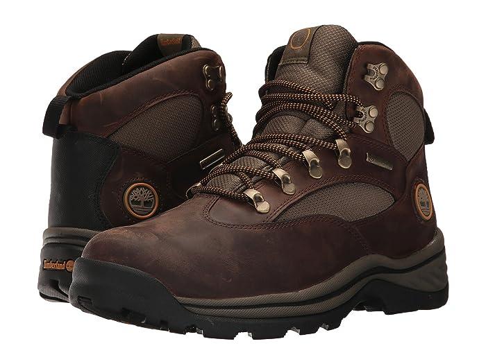Timberland  Chocorua Trail Mid Waterproof (Dark Brown Full-Grain) Mens Hiking Boots