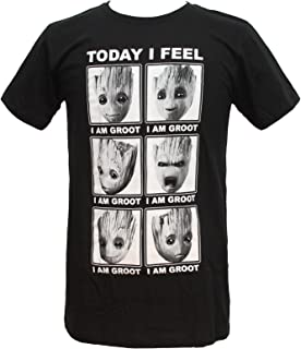 Guardians of The Galaxy 2 Face of Groot I Feel T-Shirt