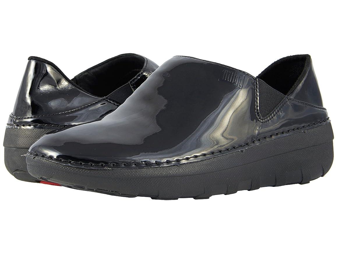 カナダ図書館口[フィットフロップ] レディースローファー?スリッポン?靴 Superloafer Patent [並行輸入品]