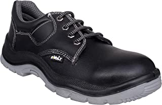 E-Volt 82270-Sauras-10 Safety Shoe, Steel Toe Cap for 200 Joules, Double Density PU Sole