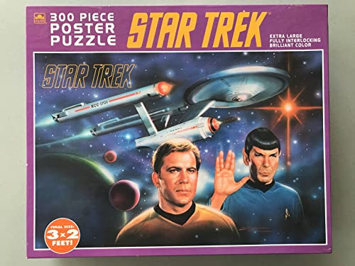 Star Trek 300 Piece Poster Puzzle (1993) by oren
