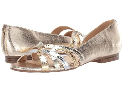 Circus by Sam Edelman Belinda (Jute/Dark Gold/Soft Silver Metallic Crackle/Baby Boa Snake) Women