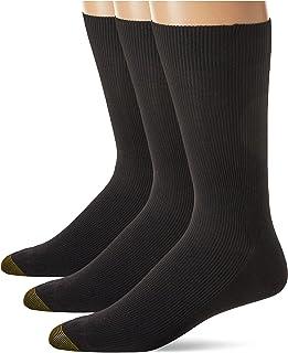 Gold Toe Men's Metropolitan Dress Sock 3 Pack