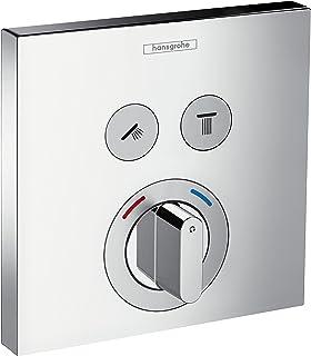 Hansgrohe 汉斯格雅ShowerSelect双功能暗装恒温龙头 镀铬