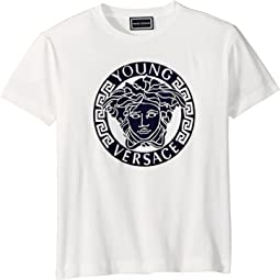 Short Sleeve Medusa Logo T-Shirt (Big Kids)