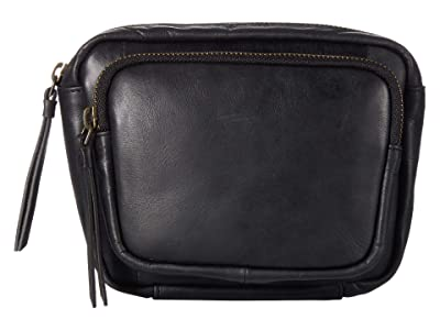 Lucky Brand Yucca Fanny Pack (Black) Handbags