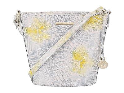 Brahmin Nostalgia Mini Quinn Crossbody (Lemonade) Handbags