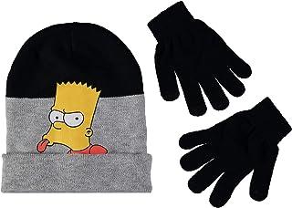 The Simpsons Boys Bart Simpson Hat Glove Set
