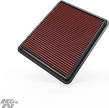 K&N engine air filter, washable and reusable:  2009-2017 Hyundai/Kia L4/V6 (Azera, i45, Sonata Hybrid, Sonata, ix35, Santa Fe, Cadenza, K7, Optima Hybrid, K5, Optima, Sorento, Sportage R) 33-2448