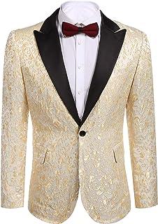 a8f8e01fe Amazon.com: Golds - Tuxedos / Suits & Sport Coats: Clothing, Shoes ...