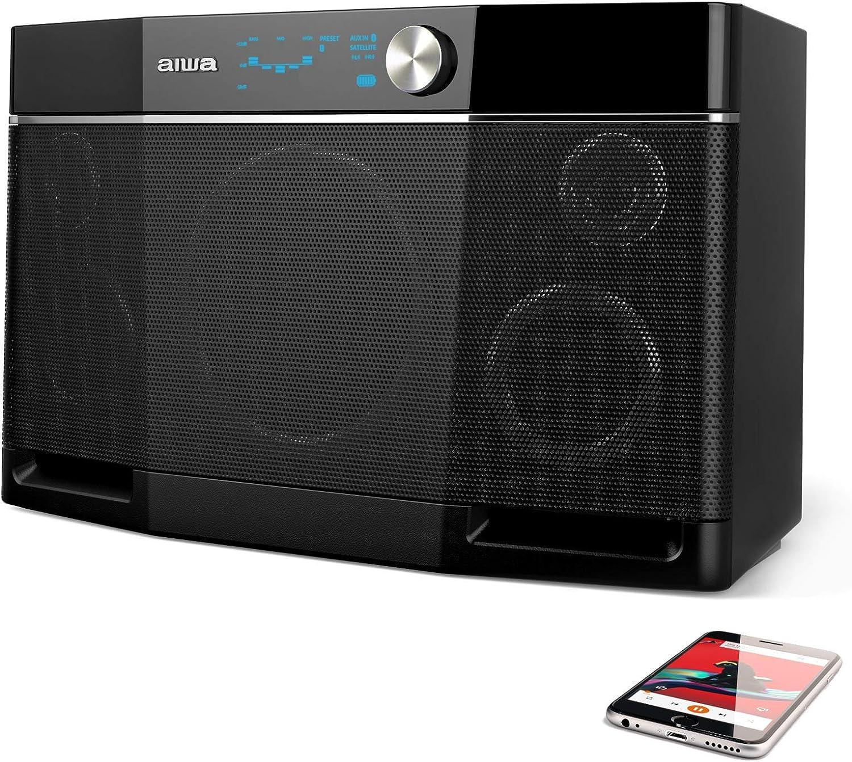 4. Aiwa Exos-9 Portable Bluetooth Speaker