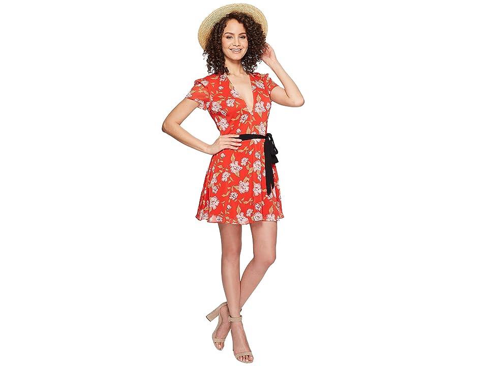 Lovers + Friends Cassidy Dress (South Beach Floral) Women