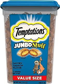 TEMPTATIONS Jumbo Stuff Crunchy and Soft Cat Treats, 14 oz.