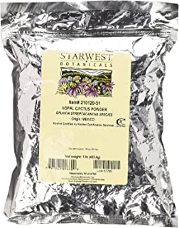Starwest Botanicals Nopal Cactus Powder Wildcrafted, 1 Pound