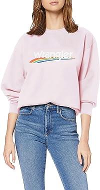 Wrangler High Rib Retro Sweat Shirt Femme