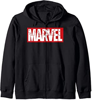 Marvel City Stars Inlay Logo Sweat à Capuche