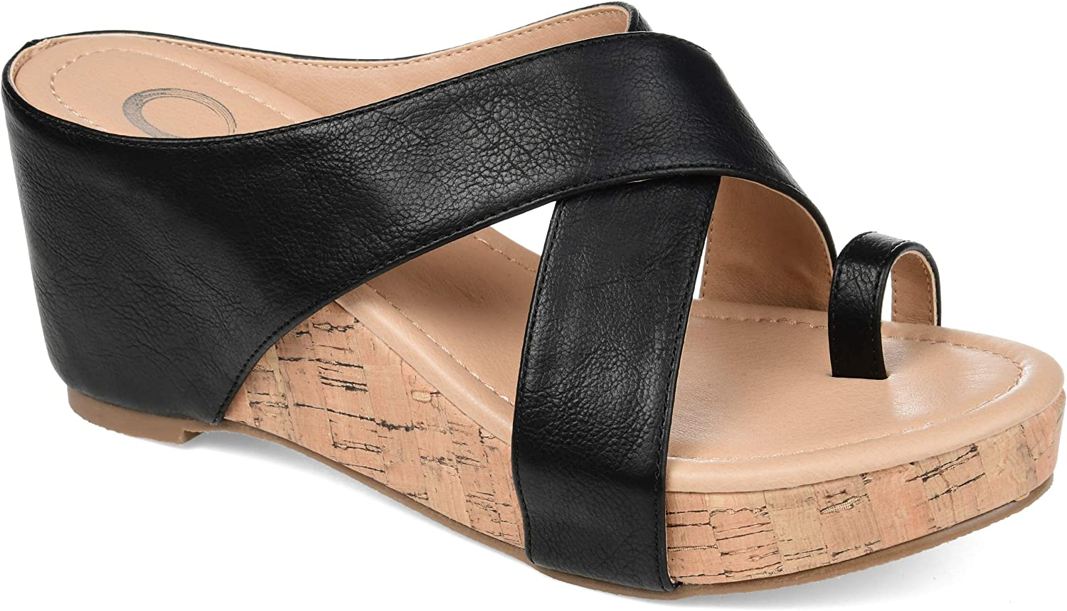 JC Columbus Mall JOURNEE COLLECTION Credence Heeled Women's Sandals