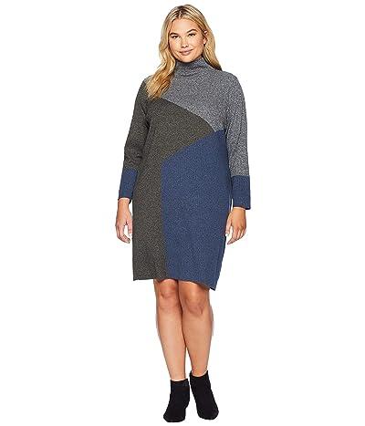 NIC+ZOE Plus Size Laid Back Dress (Multi) Women