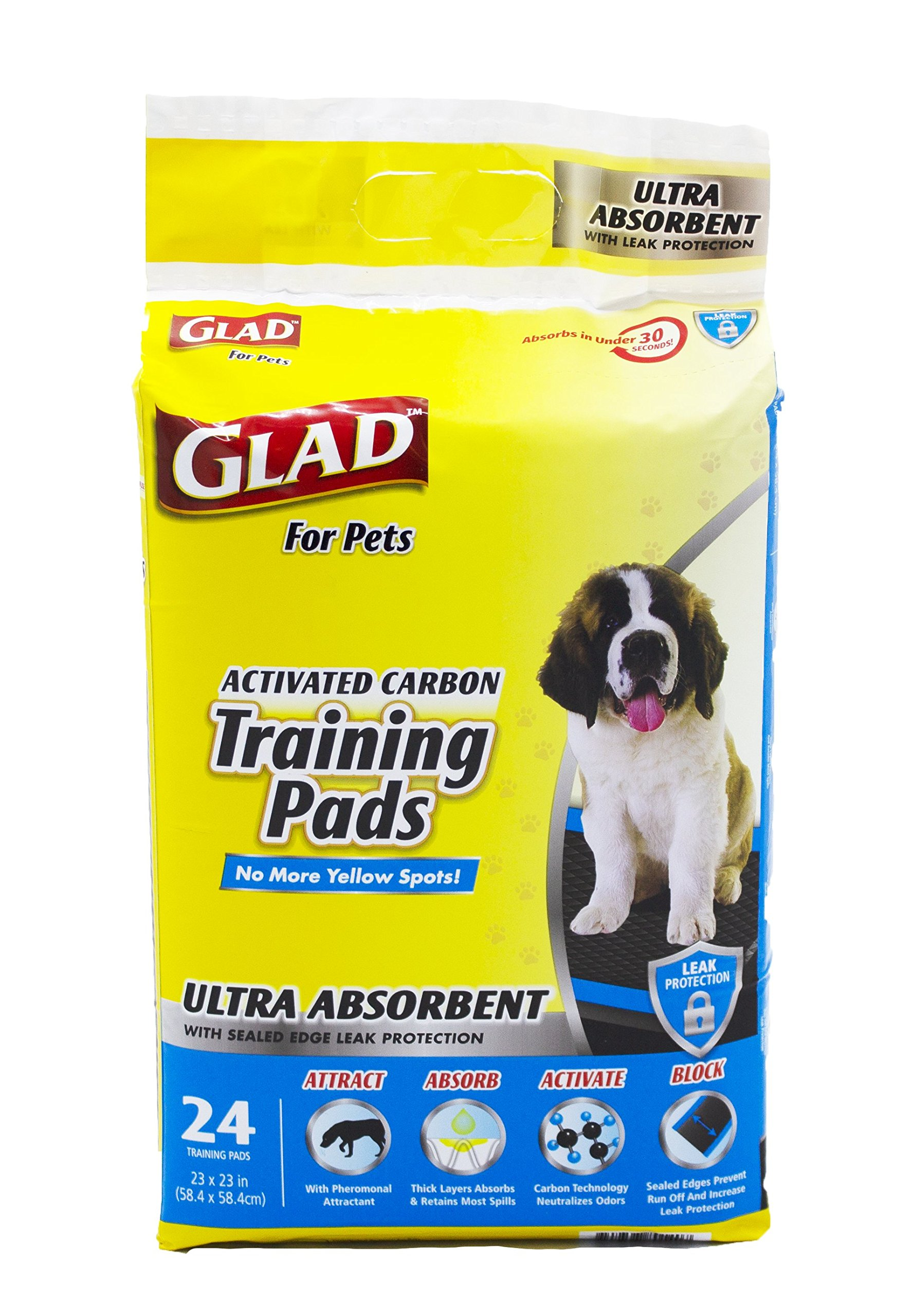 Glad Pets Ultra Absorbent Activated Leak Proof