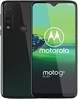 Moto G8 Play | Unlocked | International GSM only | 2/32GB | 13MP Camera | 2019 | Gray