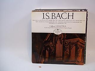 JS Bach Preludium and Fugue in C Major BWV 545 / Preludium and Fugue in F Minor BWV 534 / Trio Sonata in E Flat Major BWV ...